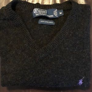 Polo Ralph Lauren Lambswool V-neck Sweater